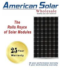 American Solar Wholesale 280W 20 pieces (5600 watts) MONO Solar Panels