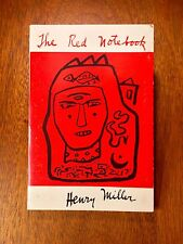 """First Edition of Henry Miller's """"The Red Notebook"""""""