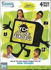 Yeh Jo Hai Zindagi - Season 1, 2 & 3 - Set of 11 DVDs - 67 Episodes TV Serial