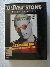 DVD WARNER BROS SEALED ASSASSINI NATI - NATURAL BORN KILLERS