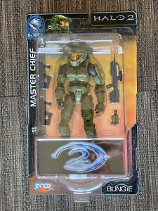 JoyRide Halo 2 Series 1 MASTER CHIEF w Battle Rifle, SMGs 2005 Action Figure NEW