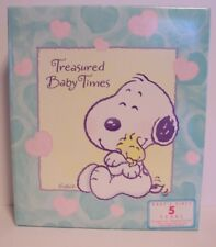 Snoopy Baby Keepsake Album Hallmark Memories Pictures Hallmark