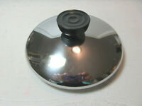 """Revere Ware 1801 REPLACEMENT LID COVER  5 3/8""""  Bottom Rim  Stainless"""