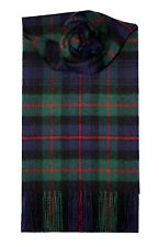 MURRAY OF ATHOLL MODERN TARTAN SCARF 100% LAMBSWOOL  by LOCHCARRON
