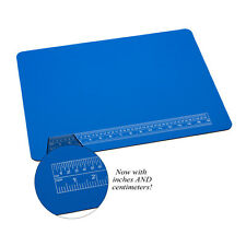 PADDED 20 X 15 JEWELERS WORK MAT WITH RULER JEWELRY MAKING WORK SURFACE NON SLIP