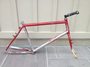 "Vintage Cannondale 26er Cam U-Brake Touring/MTB 20"" bike frame set RETRO/VINTAGE"