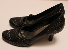 """Womens Brown High Heel Reaction by Kenneth Cole """"Break Water"""" Size 10 M Studded"""