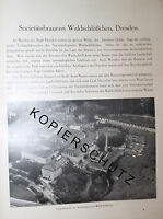 Societäts Brauerei Waldschlößchen Dresden 8 Seiten Historie von 1926 Werbung ad
