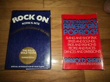 2 Music Books Rock On The Solid Gold Years AND Dictionary of American Pop/Rock