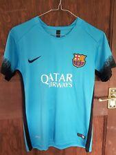 Away Camiseta Barcelona 2015-16, 12-13 años, regular estado de conservación
