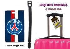 Etiquette bagage / luggage tag - PSG paris saint germain foot 01-001
