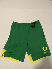 Oregon Ducks Nike Breathe Knit Shorts Green Standard Fit Men's Size: Large NWT