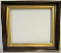 ANTIQUE  WALNUT  GREAT QUALITY  FRAME FOR PAINTING  11 1/2  X 9 1/2  INCH  (b-3)