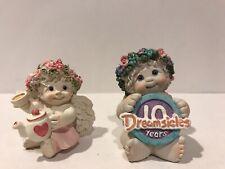 "Dreamsicles Mini Lot 2 Figures High Tea-10 Year Anniversary 2-2 1/4"""