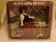 BARBIE CONVENTION 1998- WE CAN DO ANYTHING, COMES IN GLASS CASE