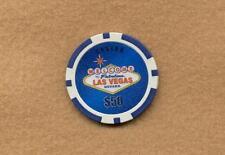 WELCOME TO FABULOUS LAS VEGAS - $50 CASINO GAMING SOUVENIR CHIP - LAS VEGAS NV