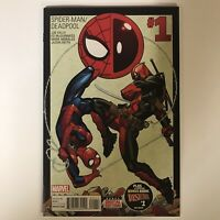 Spider-Man / Deadpool #1 NM Marvel Comics Joe Kelly MgGuinness 2016 1st Print