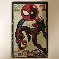 Spider-Man / Deadpool #1 NM Marvel Comics Joe Kelly MgGuinness 2016 1st Print