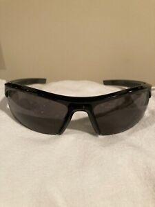 Under Armour UA Stride Sport Sunglasses Shiny Black...Pre-Owned