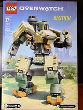 LEGO 75974 Overwatch Bastion Robot Building Kit Light Up Blizzard New In Box