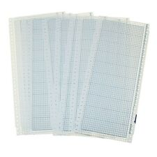 10pcs Blank Punch Card 24 Stitches for Brother Knitting Machine Singer/SReed DE