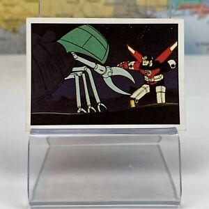 SHIPS SAME DAY Voltron #142 Mini Picture Card Sticker Figurine Panini 1984 Rare