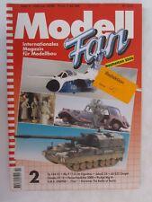 Modell Fan Magazine - Heft 2 February 2000 GERMAN TEXT