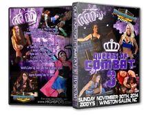 Queens of Combat 3 Blu-Ray, Mickie James Divas Knockouts WWE ROH TNA WSU CZW
