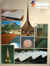 SIPLAST Roofing Systems Catalog AMIANTE PERFO ASBESTOS Roof Sheets 1983