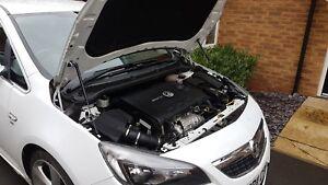 Bonnet Hood Gas Strut lifter kit for Vauxhall Opel Astra J mk6 GTC VXR 2009-15