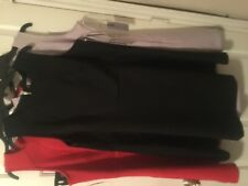 Jennifer lopez dress lot of 3.black red lavender