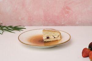 D&F Hola Hand Paint Dessert Plate Set of 4