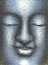 BUDDHA GEMÄLDE Buddhabild Leinwand Buddha Malerei Buddhagemälde Buddhadeko Budda