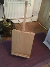 Wooden table top easel And Art storage box by Chatsworth In Used Condition