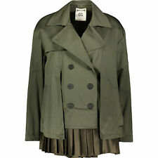SEMICOUTURE ITALY light  outdoor jacket, trench ,mac ,  size IT42, UK10 RRP £290