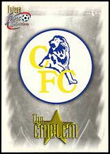 The Emblem #98 Futera Chelsea Football 1999 Trade Card (C336)