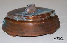 C159 Très ancien cendrier - JPMC Made in Belgium - cuivre  ?