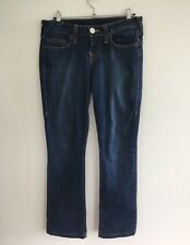 True Religion Women's Jeans Size 27 Trisha Blue Cotton Elastane