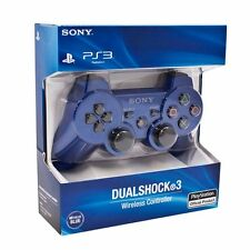 Sony Playstation 3 PS3 Dualshock 3 Wireless SixAxis Controller BLUE |usa