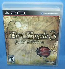 Port Royale 3 -- Gold Edition (Sony PlayStation 3, 2014)
