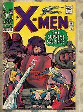 X-MEN 16JAN 1966 Marvel Silver Comics Lee & Kirby  THE SUPREME SACRIFICE