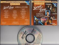 SECRET LOVERS 1989 TV CD ARCADE Alessi Brothers Samantha Fox  Wham! Zucchero