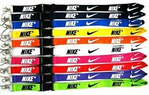 Nike Lanyard Over-Neck ID Card OR Key Holder 30 Colours! *FREE UK DELIVERY*