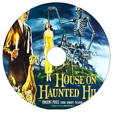 House on Haunted Hill - Vincent Price, Carol Ohmart - Horror - DVD - 1959