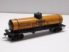 Ho Scale - Vintage Shell Oil Single Dome Tank Car Train S.C.C.X. #2005