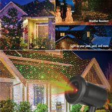 Outdoor Kshioe Red Green Xmas LED Moviong Laser Projector Light Christmas Party