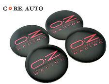 4× 56mm O.Z RACING Car Wheel Centre Sticker Badge For Fabia Yeti