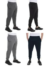 Men's Mesh Dri-Fit Pants Athletic Joggers Light-Weight Workout Track Gym S-XXL
