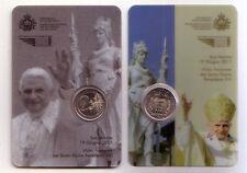 San Marino    coincard 2011 Benedetto XVI