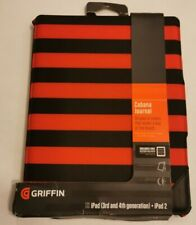 NEW GRIFFIN FOLIO CASE WITH STAND IPAD 3RD & 4TH GENERATION + IPAD 2